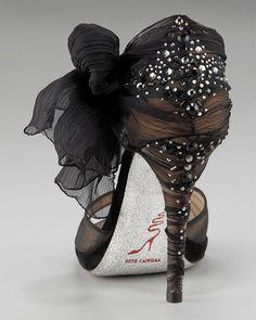 Rene Caovilla zapatos t Zapatos Zapatos lindos and Rene Caovilla, Crazy Shoes, Me Too Shoes, Christian Louboutin, Louboutin Shoes, Mode Shoes, Love Sparkle, Black Sparkle, Sparkle Heels