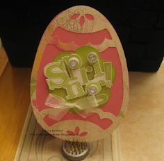 Easter card using AP cart