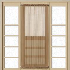 Monte Carlo Semi Voile Door Panel