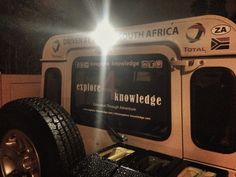 @LumenoInfo #LightBar on our @LandRoverZA #Defender thank you for the amazing support and lighting up our field work