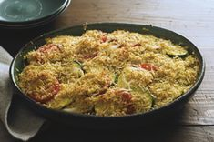 Draw in diners with this Ratatouille Recipe. This Ratatouille Recipe is finished with a crispy Parmesan topping that will have people asking for seconds. Side Dish Recipes, Vegetable Recipes, Vegetarian Recipes, Dinner Recipes, Healthy Recipes, Side Dishes, Vegetarian Times, Healthy Food, Kraft Recipes
