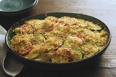 Crispy Parmesan Ratatouille recipe #HealthyLivingRecipes