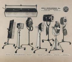 Vintage #Mole-Richardson Co. product line    http://www.mole.com