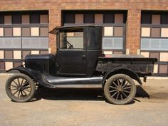 1924 Ford Model T Enclosed Cab Pickup                                                                                                                                                                                 More