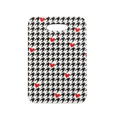 """Empire Ruhl """"Spacey Houndstooth Heart"""" Decorative Luggage Tag from KESS InHouse"""