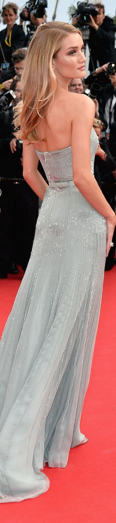 beauty in cannes ~  Rosie Huntington-Whiteley in Gucci