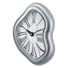 George Nelson Melted Metal Wall Clock - 11 in. Wide - 1812