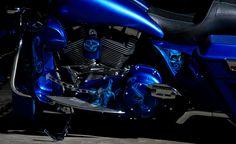 Blue custom primary