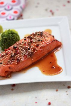 Tataki salmon recipe (without ginger)
