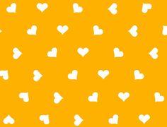 Keltainen <3 kangas