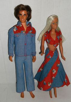 I have these!! It was one of my favorites. Barbie Doll Mod Ken Dolls Lot in Clothes Fashions | eBay