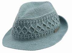 Kangol crochet hat - VERY advanced crocheting methinks ;-)