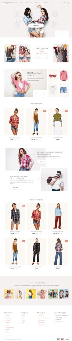 Eveprest is Premium full Responsive #PrestaShop Theme. Retina Ready. If you like this #eCommerceTheme visit our handpicked list of best Prestashop #VideoBackground Templates at: http://www.responsivemiracle.com/best-responsive-prestashop-video-background-template/