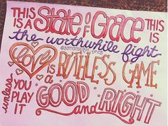 State of Grace Lyric Drawing Lyric Art, Lyric Quotes, Music Lyrics, Healthy Snacks For Adults, Healthy Dinner Recipes, Taylor Swift Number, Lyric Drawings, Taylor Lyrics, Music Collage