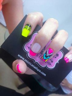 Beauty Nails, Hair Beauty, Indian Nails, Broken Nails, Neon Nails, One Design, Beauty Secrets, Acrylic Nails, Nail Designs