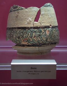 Bote primera mitad del siglo X. Museo de Jerez