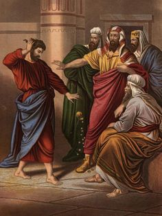 Meet Judas: Betrayer of Mrs. Wanda Spann : In remorse, Judas Iscariot throws down the 30 pieces of silver he received in payment for betraying Christ.