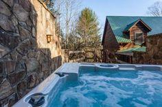 4 bedroom Vacation Rental in Blue Ridge from $175/nt - Little Piece of Heaven - Blue Ridge Luxury Cabin