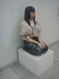 Osang Gwon, Knee Slider, sculpture