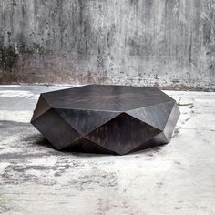 Shop the Aiden Modern Classic Geometric Black Wood Coffee Table and other Coffee Tables at Kathy Kuo Home Round Wood Coffee Table, Black Coffee Tables, Cool Coffee Tables, Modern Coffee Tables, White Coffee, Accent Furniture, Home Furniture, Business Furniture, Outdoor Furniture