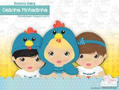 Bonecos - galinha pintadinha