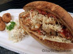 How Do You Cook.com: Shrimp and Crab Po Boy