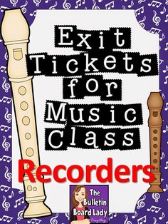 Mrs. King's Music Room: Introduction to Exit Tickets