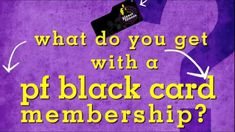 PF Black Card Benefits THE BENEFITS OF HAVING A BLACK CARD AT PLANET FITNESS
