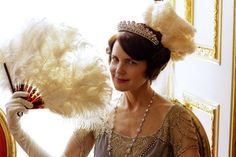 Cora Crawley, Countess of Grantham in The London Season - Downton Abbey Series 4 Christmas Special (2013).