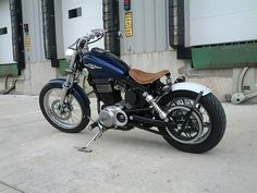 Suzuki S40 Bobber Mod This is the one I want. Simple. Beautiful. Perfection.