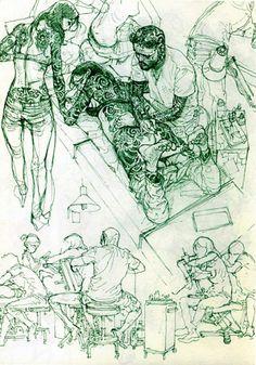 Kim Jung Gi 0.2 sketchbook by Goblin - issuu