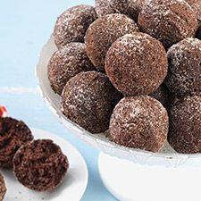 Chocolate Cake Doughnut Holes: King Arthur Flour