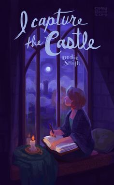 I Capture the Castle Art Print by siminiblocker - X-Small I Love Books, Books To Read, My Books, Reading Quotes, Book Quotes, Reading Books, I Capture The Castle, Books For Teens, Book Cover Design