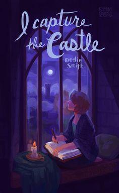 I Capture the Castle Art Print by siminiblocker - X-Small I Love Books, Books To Read, My Books, Reading Quotes, Book Quotes, Reading Books, I Capture The Castle, World Of Books, Book Nerd