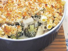 Chicken Broccoli Casserole: Alter by cooking frozen chicken in crockpot with cream of soup. Add broccoli for last hour. Then, make casserole just before dinner time. Potluck Recipes, Pasta Recipes, Cooking Recipes, Healthy Recipes, Ziti Casserole Recipe, Casserole Dishes, Cooks Country Recipes, Chicken Broccoli Casserole, Chicken Ziti