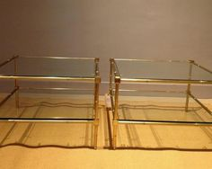 JA Coffee tables, should I go for pewter or brass?