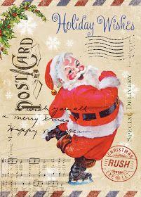 Paulo Viveiros: Vintage Ephemera Christmas Designs http://www.pinterest.com/mistilees/vintage-holidays/