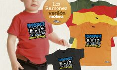 Buenos días Petits!!! Parece que el frío ya ha asomado la patita y queremos combatirlo a ritmo de Rock!!! Diseño original para los peques más movidos y molones!! En babero o camiseta, elige el que más te guste: https://goo.gl/cLLZ51  www.petitpascon.es #familiasmolonas #rock #regaloperfecto #FelizMiercoles #Ramones