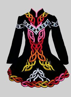 Jennifer Blackerby Irish Dance Solo Dress Costume