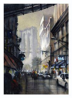 Art Of Watercolor: Thomas W. Schaller - Interview