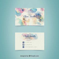 Certificate Design Template, Florist Logo, Business Cards Layout, Branding Design, Logo Design, Name Card Design, Bussiness Card, Name Cards, Creative Cards