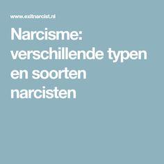 Narcisme: verschillende typen en soorten narcisten