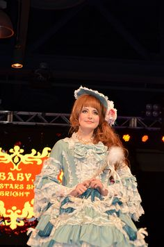 Baby, The Stars Shine Bright, Anime Matsuri fashion show. Love the dress and hair.