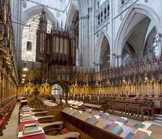 Choir and music York Uk, York England, Visit York, Organ Music, York Minster, Catholic Churches, Church Music, Northern England, Cathedral Church