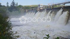 Dam Los Molinos - Stock Footage   by BucleFilms