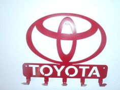 Toyota Logo Key Rack