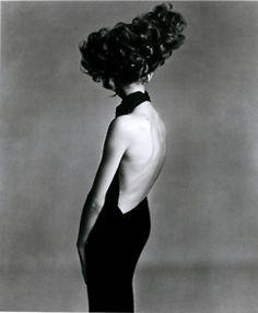 Jean Shrimpton, Paris Studio, August 1965  Harper's Bazaar, September 1965  Photographer: Richard Avedon paris, evening dresses, august 1965, fashion, richard avedon, studios, jeans, jean shrimpton, hair