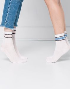 PACK 2 CALCETINES SPORTY - MEDIAS Y CALCETINES - MUJER - PULL&BEAR España 6e