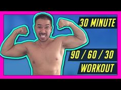 30 Minute Metabolism Boosting HIIT Workout - Strength, Cardio and Abs // Mike Donavanik - YouTube
