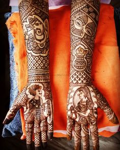 Pick Your Latest Beautiful Bridal Mehndi Designs That Looks Stunning!